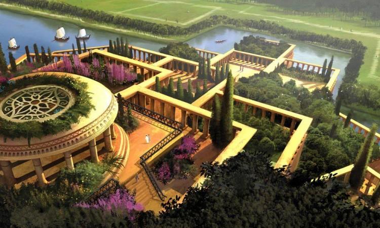 Venez découvrir les jardins suspendus de Babylone ! - Deco ...